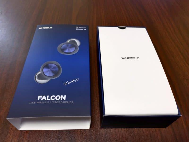 Noble Audio FALCON パッケージ 開封