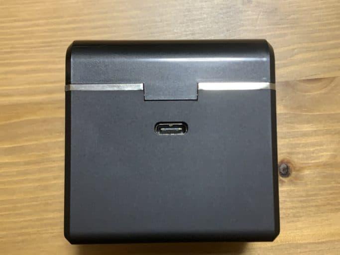 TE-D01d MK2 充電ケース USB端子