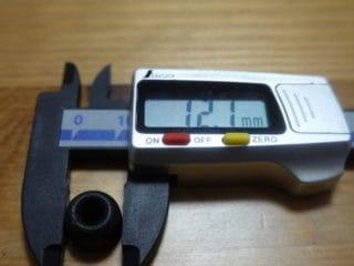 傘径 12.1mm