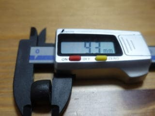 軸径 9.3mm