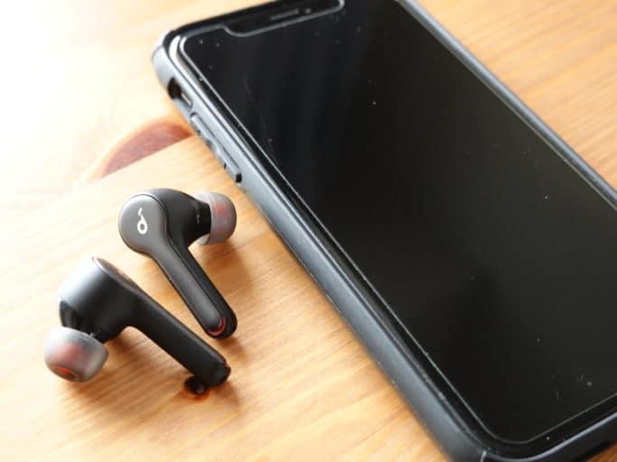 iPhoneと接続