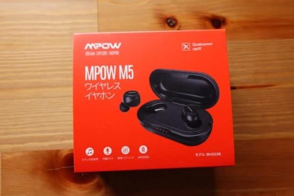 MPOW M5 パッケージ