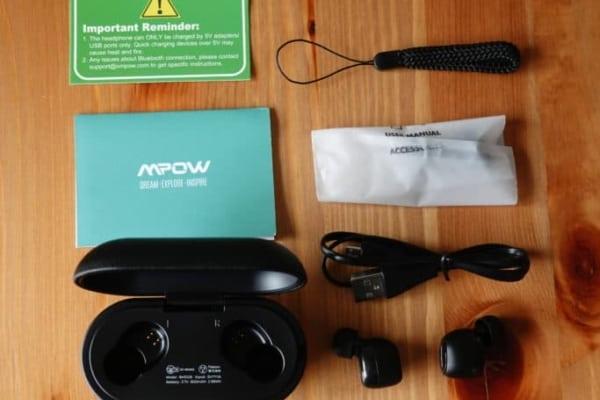 MPOW M5 付属品
