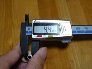TE-D01gvのくびれ部は4.4mm