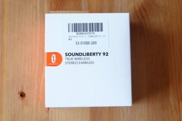 TaoTronics SoundLiberty 92 パッケージ