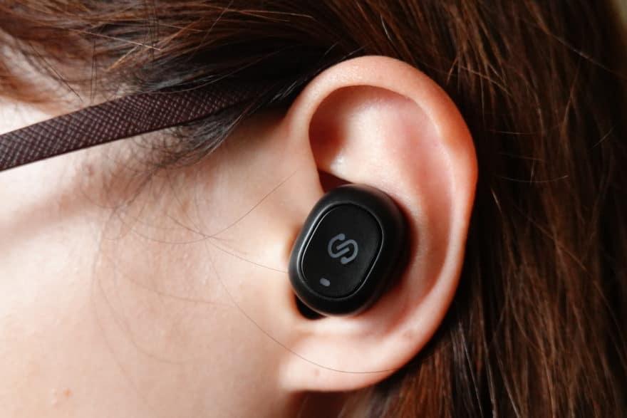 装着感:耳の中に収まりやすい