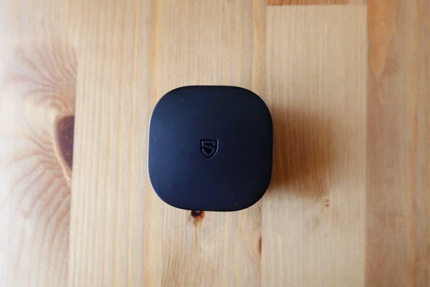 充電ケース|超薄型のコンパクトサイズ