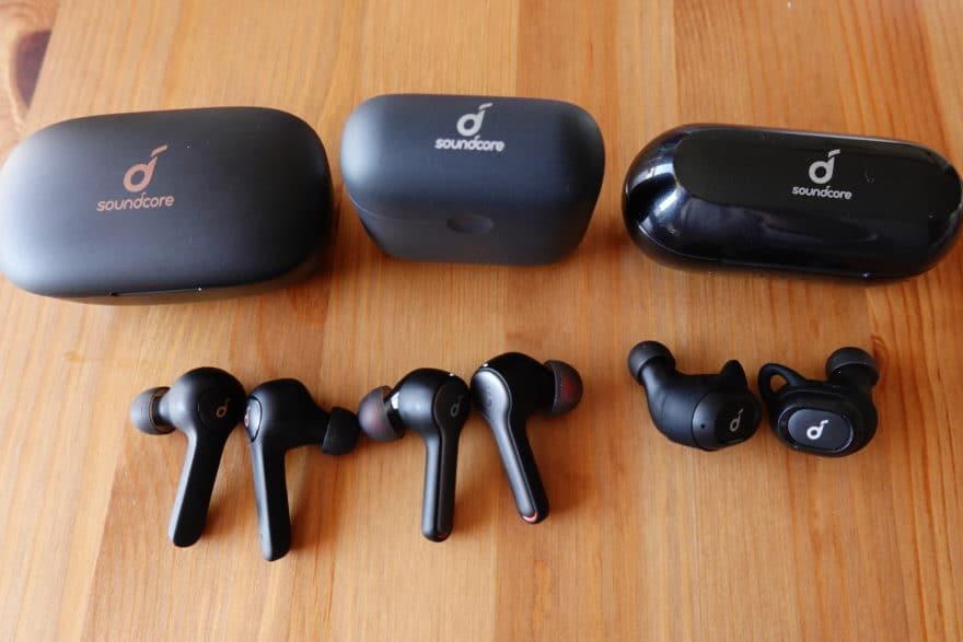 Soundcore Life P2、 Liberty Air 2、Liberty Neoを比較