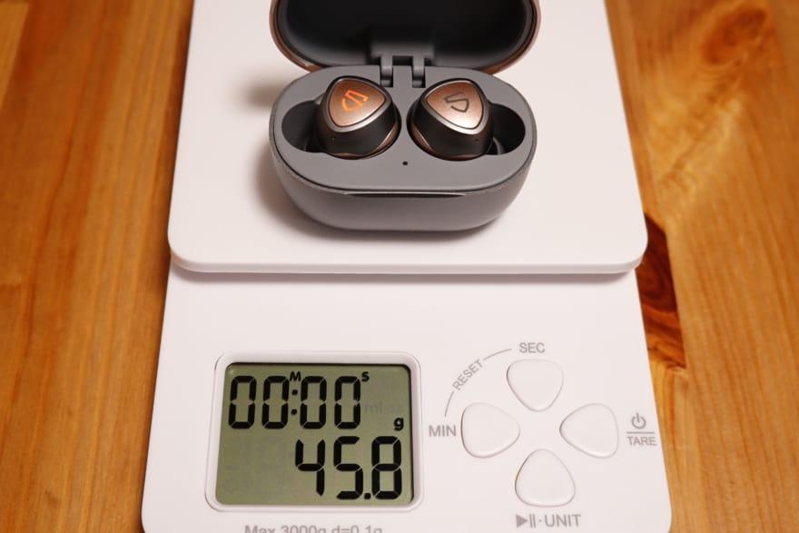 総重量は45.8g