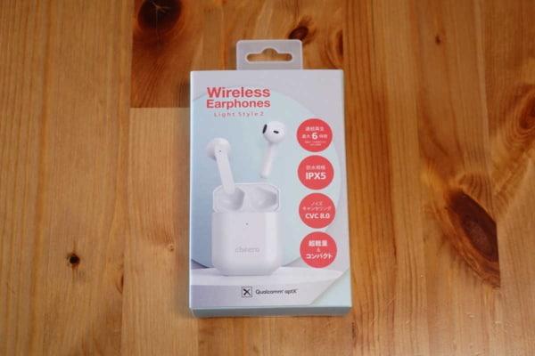 Wireless Earphones Light Style 2 (CHE-632)のパッケージ