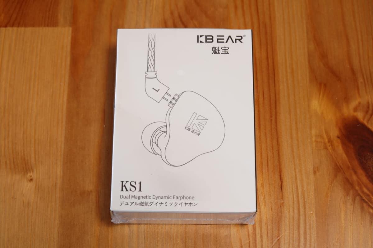 KBEAR KS1 パッケージ