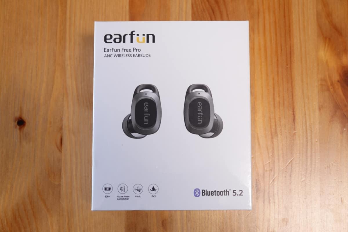 EarFun Free Pro パッケージ