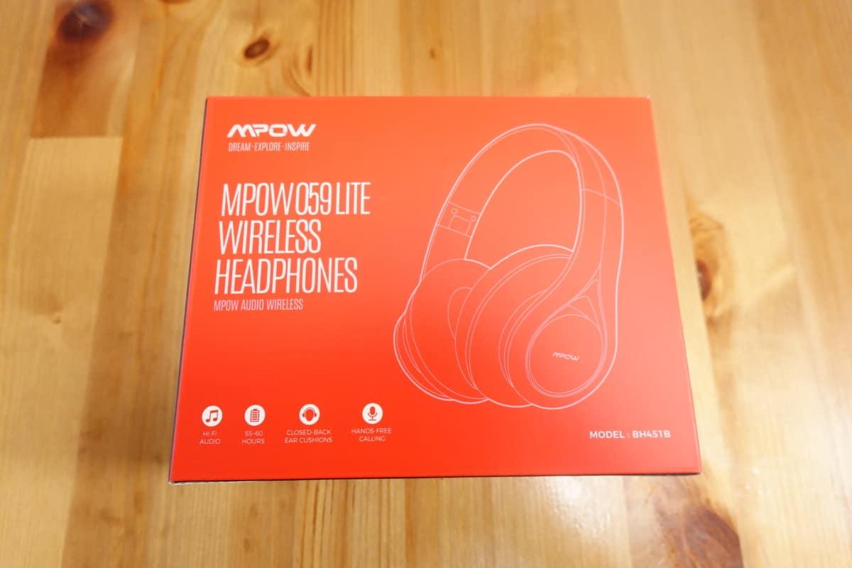 Mpow 059 Liteのパッケージ