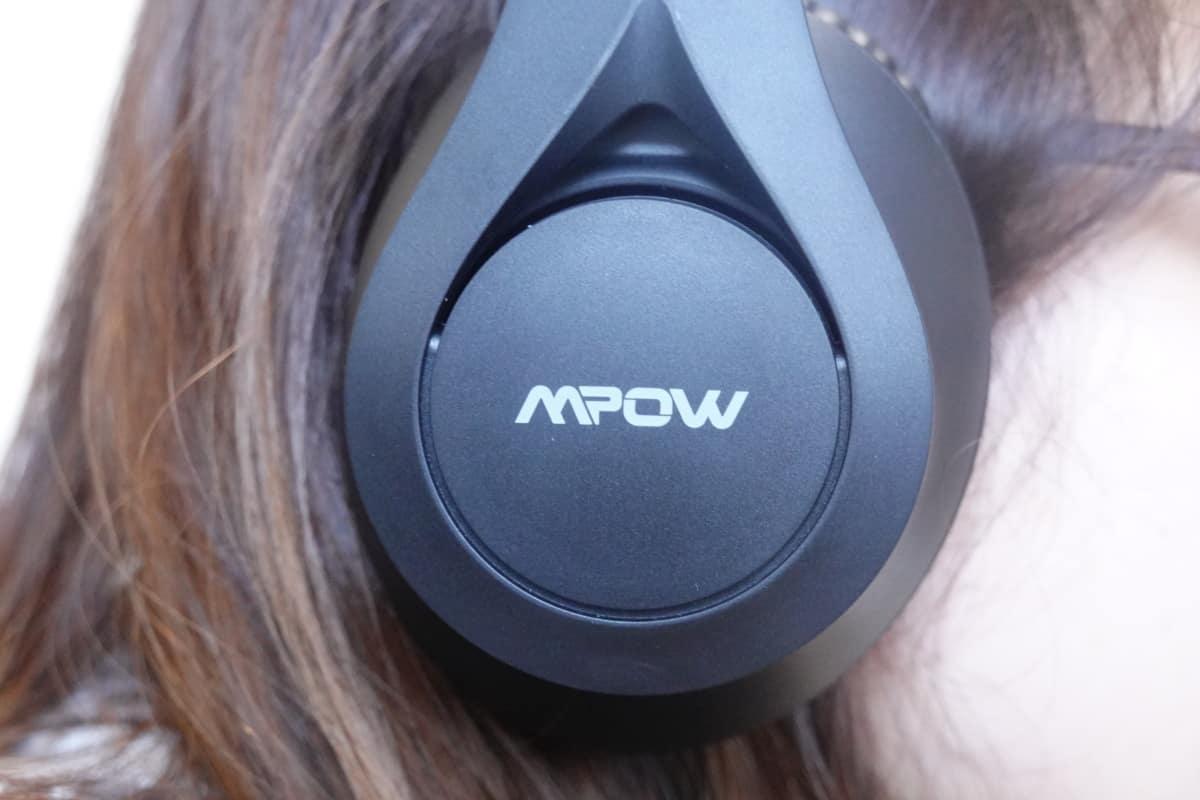 Mpow 059 Liteの装着画像