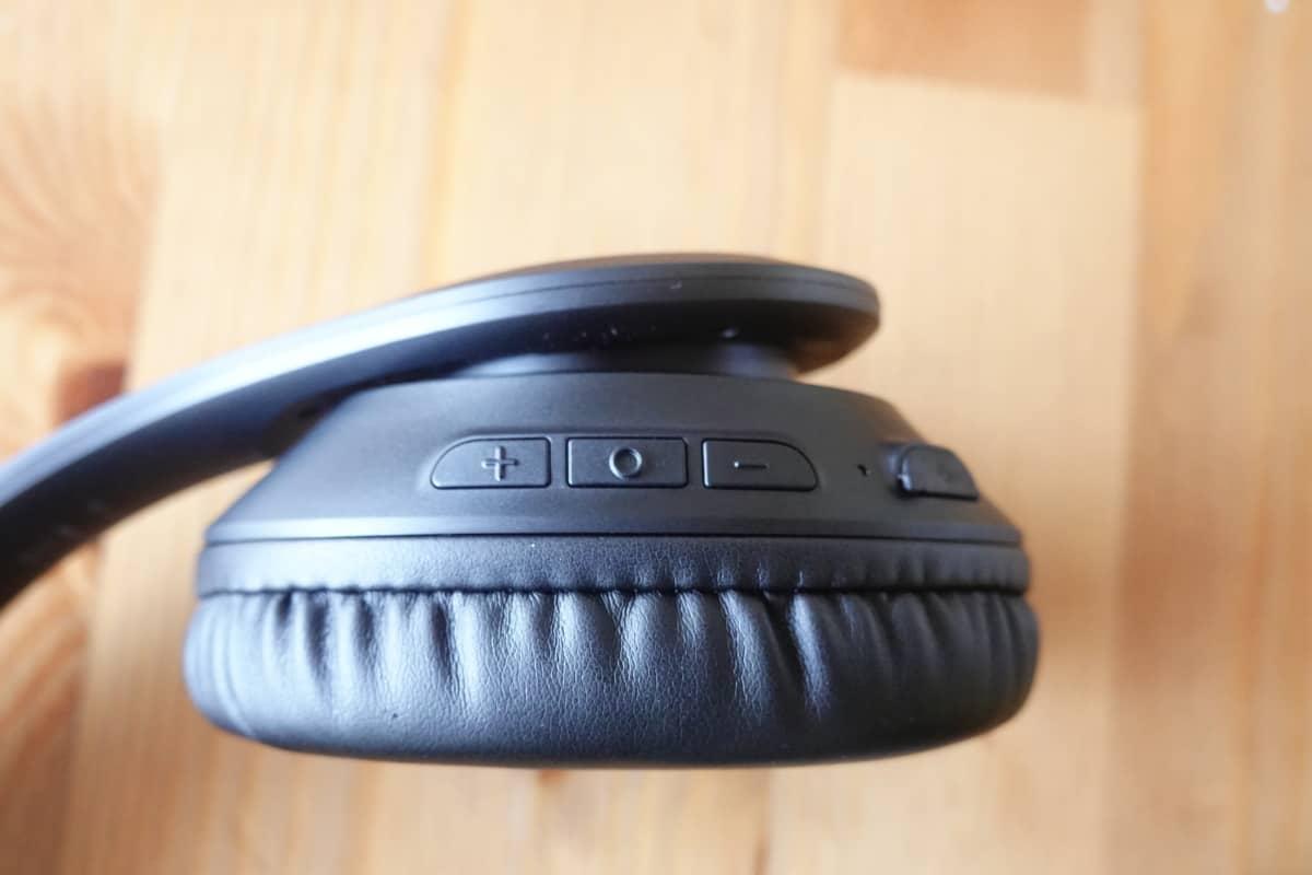 Mpow 059 Liteは物理ボタンを採用