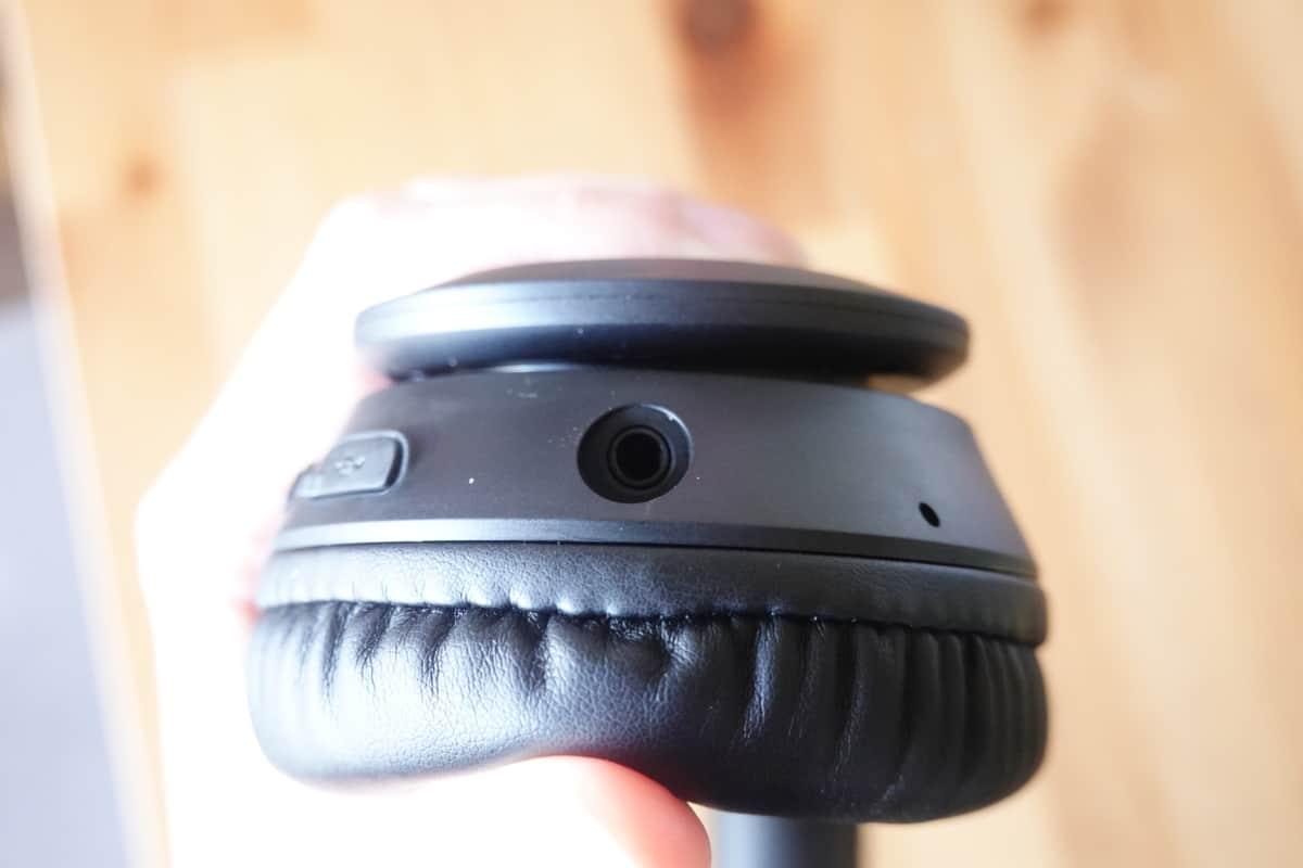 Mpow 059 Liteの3.5mm端子