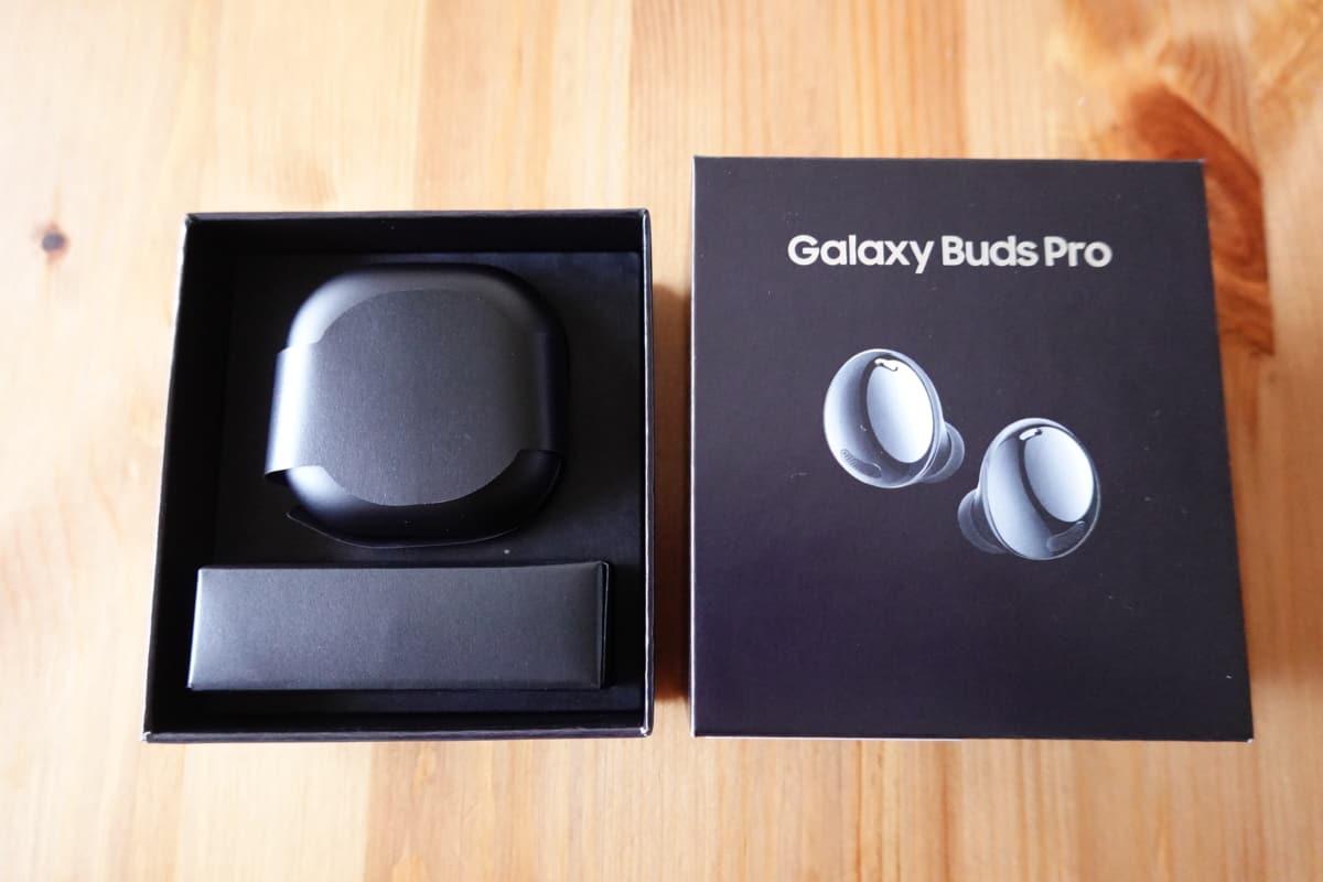 Galaxy Buds Proのパッケージを開封