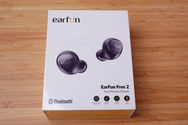 EarFun Free 2 外箱