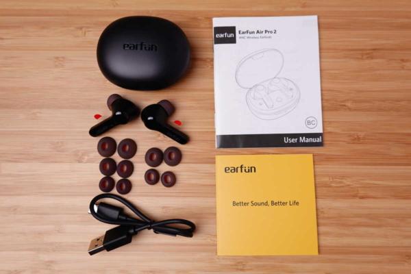EarFun Air Pro 2 付属品